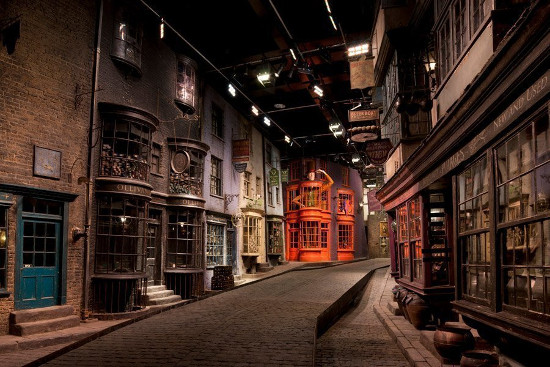 decor des films harry potter
